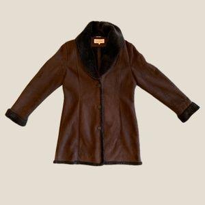 Calvin Klein Fur Coat